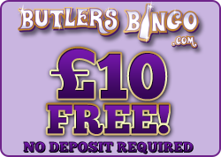 Butlers Bingo - Play Now