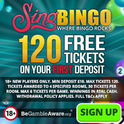 Play at Sing Bingo
